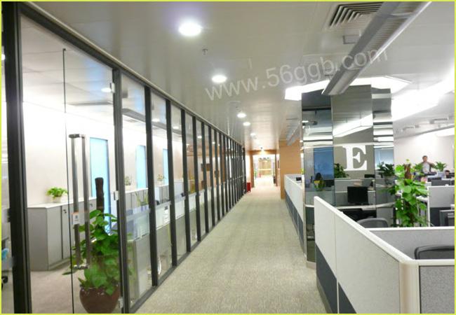 高隔间铝材_平安保险办公室